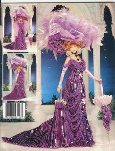 ... Barbie Patterns – Modelos de Vestidos para Barbie con Patrones                                                                                                                                                     Más