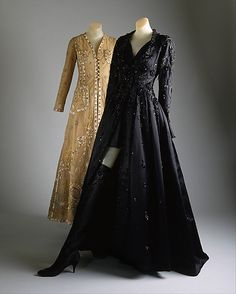 Evening Ensembles, House of Chanel, Designer Karl Lagerfeld, F/W 1990-91, French, silk