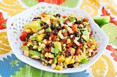 Avocado, Corn and Mango Salsa Recipe