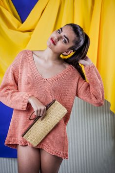 Coracao Sweater Designed by We Are Knitters