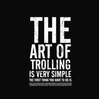 The art of trolling #funny #fun #joke #Meme