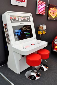 Nu-Gen Elite Arcade Machine | Home Leisure Direct