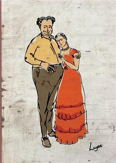 Diego e Frida.