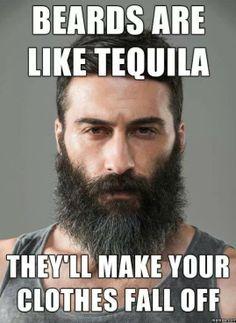 <3 a beard!