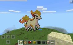 Kijk wat ik heb gemaakt ponyta