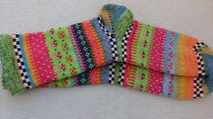 Bunte+Socken+Muriel++Gr.+40/41+von+Sockenlust+auf+DaWanda.com