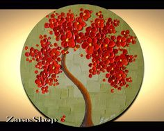 LAST CHANCE SALE Buy 2 for 250.00 Round Wall Art by ZarasShop
