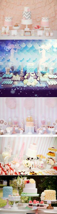 Lovely Dessert Table Designs