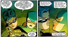 Batgirl Year One #5: Dick Grayson & Barbara Gordon