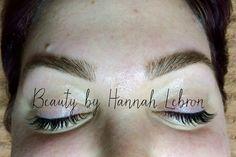 Brows by Hannah Lebron #bbhlbrows www.hannahlebron.com