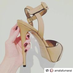 So glad to see our clients happy! �� Gorgeous @amaliafumanal enjoy your #LeSilla's and we hope to see You back soon!  #CherryHeel #luxury #shoe #boutique #shoes #sandals #MadeinItaly #heels #happy #client #inspiration #spring #fashion #style #elegance #look #blogger #instafashion #барселона #блоггер #стиль #шоппинг #обувь #девочкитакиедевочки #стиль #испания http://www.butimag.com/fashion/post/1481897795119217382_205397291/?code=BSQwjF3g_rm