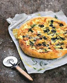 Pizza aux restes de fromages pour 4 personnes - Recettes Elle à Table