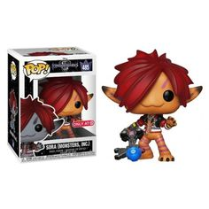 Funko Sora Monsters Inc Orange Mike And Sully, Disney Kingdom Hearts, Character And Setting, Monsters Inc, Collectible Figurines, Sora, Funko Pop Vinyl, Display Boxes, Disney Animation