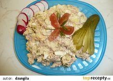 Pomazánka z vepřové konzervy recept - TopRecepty.cz Grains, Rice, Meat, Chicken, Food, Meals, Laughter, Jim Rice, Korn
