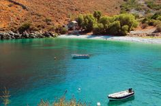 Peaceful Beach in Mani Greece Greek Islands, All Over The World, Beautiful Places, In This Moment, Vacation, Beach, Water, Travel, Outdoor