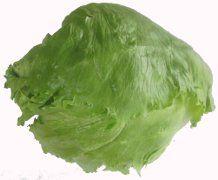 unsere Eisbergsalat-Rezepte wie zB Schichtsalat und andere Eisbergsalate Eisbergsalat hat im September Saison