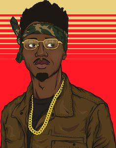 Metro Boomin: Lone Wolf Designs Young Metro Fan Art
