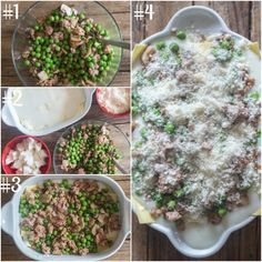 white sauce lasagna how to make mixing the ingredients, layering the lasagna and ready to bake White Sauce Lasagna, Lasagna Sauce, Italian Dishes, Italian Recipes, Homemade White Sauce, Italian Lasagna, Best Pasta Dishes, Potluck Dinner, Easy Lasagna Recipe