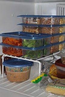 a few freezer meals