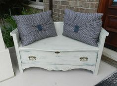 Crafty in Canada: Dressers to benches.