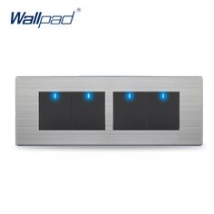 4 Gang 2 Way Switch Hot Sale China Manufacturer Wallpad Push Button One-Side Click LED Indicator Luxury Wall Light -  Cheap Product is Available. We give you the best deals of finest and low cost which integrated super save shipping for 4 Gang 2 Way Switch Hot Sale China Manufacturer Wallpad Push Button One-Side Click LED Indicator Luxury Wall Light or any product promotions.  I hope you are very happy To be Get 4 Gang 2 Way Switch Hot Sale China Manufacturer Wallpad Push Button One-Side…
