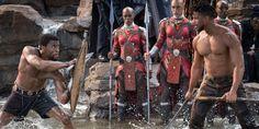 Michael B. Jordan Workout and Diet [Updated]: Train like Killmonger! Black Panther Marvel, Black Panther Images, Film Black Panther, Black Panther 2018, Black Panthers, San Diego Comic Con, Films Marvel, Marvel News, Marvel Fan