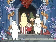 All things moomin. Moomin Cartoon, Moomin Valley, Tove Jansson, Little My, Beautiful Drawings, Cartoon Pics, Graphic Design Illustration, Illustrations Posters, Cute Art