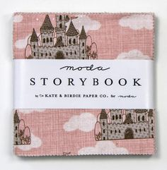 STORYBOOK by KATE & BIRDIE PAPER CO for MODA ~ 100% COTTON ~  CHARM PACK #Moda