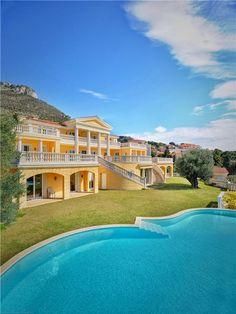 French villa near Monaco