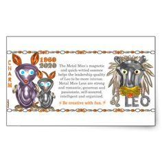 ValxArt Zodiac metal rat Leo born 1960 2020 Rectangular Sticker  by valxart.com for $5.10 What astrology sign+year are you? Your chinese zodiac year + astrology month molds your character. To learn more  see http://pinterest.com/pin/190347521720759035/  Valxart has Zodiac designs with & without horoscope forecast  include cusp, chinese zodiac years and years + sign. Check pinterest.com/valxart and if you do not see product, year or sign desired, contact Valxart  info@valx.us for links.