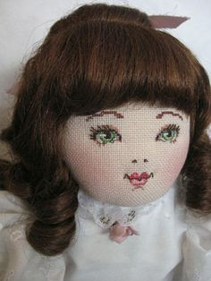 how to fix embroidered doll eyes