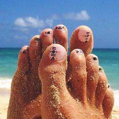Best Toe Nail Art - 53 Best Toe Nail Art for 2018 - Nail Art HQ #nailart