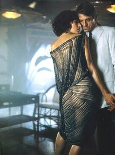 Milla Jovovich and Jeremy Irons photographed by Mikael Jansson for the Donna Karan Spring/Summer 2001 campaign, otherwise known as one of my favorite campaigns of all time