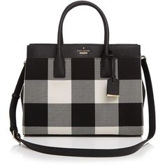 kate spade new york Cameron Street Plaid Candace Satchel (4.961.380 IDR) ❤…