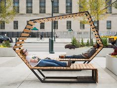 Looped In pop-up social seating