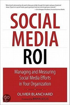 Totally must read of every social media manager or social media related marketing specialist. This book can help you set up KPI's from integrated perspective, so no longer ROI is that grey area of social, social is part of your mix and so does the KPI's too!