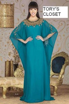 Very Fancy dubai Kaftan/Abaya/jalabiya Ladies Maxi Dress Caftan Wedding gown (as pictured) by TORYSCLOSET on Etsy https://www.etsy.com/listing/169805654/very-fancy-dubai-kaftanabayajalabiya