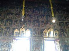 Inside racha oros temple