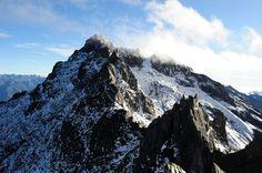 Cima del Pico Bolívar en el Parque Sierra Nevada. Edo. Mérida.