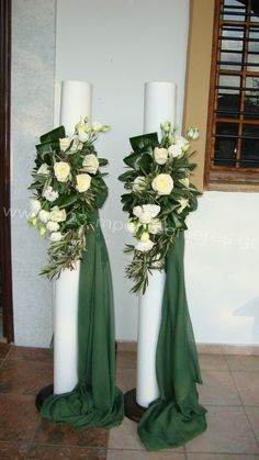 Choosing The Flower Arrangements For Church Wedding Creative Flower Arrangements, Church Flower Arrangements, Church Flowers, Floral Arrangements, Tall Wedding Centerpieces, Church Wedding Decorations, Backdrop Decorations, Flower Decorations, Wedding Ceremony Flowers