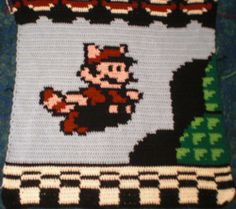Super Mario crochet ... I need to learn how to make this!!!