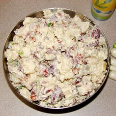 Texas Ranch Potato Salad--super easy and very yummy!