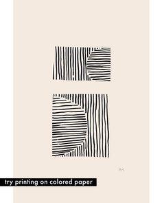 Ink Line Drawing Digital Download Print at Home Black and
