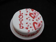 valentine's day cake tesco