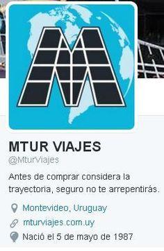 Ahora seguínos  por Twitter! Te esperamos! https://twitter.com/MturViajes