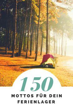 eBook mit über 150 Motto-Ideen für dein nächstes Zeltlager oder Ferienlager