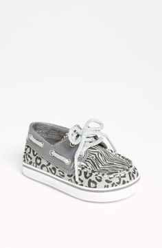 Sperry Top-Sider® 'Bahama' Crib Shoe (Baby)