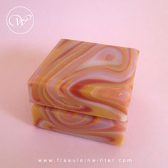 Spinning Swirl - Cold process soap by Fräulein Winter