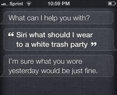 Unhelpful Siri…