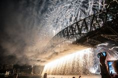 2014 began with a bang for me as I was in Sydney to photograph their annual New Year's Fireworks on the Sydney Harbor. I would love to return to photograph the fireworks again, as I wasn't able to set up at an ideal spot.